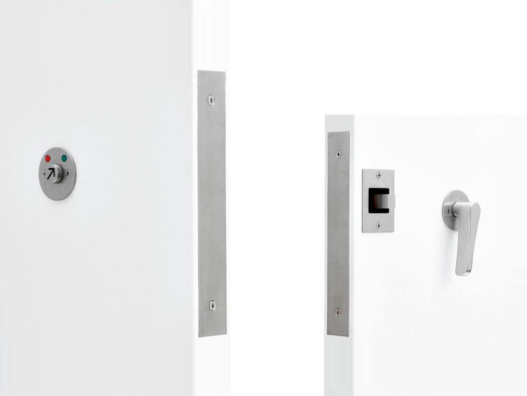 C-94BL-HL BARRIER FREE (ADA COMPLIANT) BARN DOOR LOCK SET