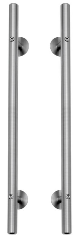 CRT-DP36/DP18 X 630 DOUBLE ROUND BAR HANDLE PULLS