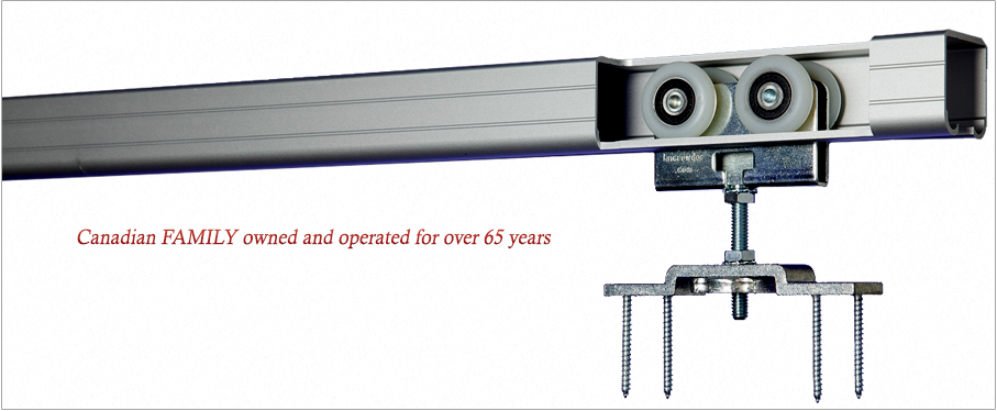 KN Crowder Inc Sliding Door Hardware Sliding Door Track