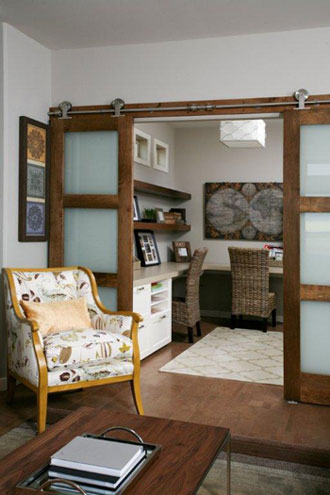 Superbe Barn Door Divider