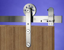 ideal for barn door style hardware to mimic the oldschool at track sliding system used