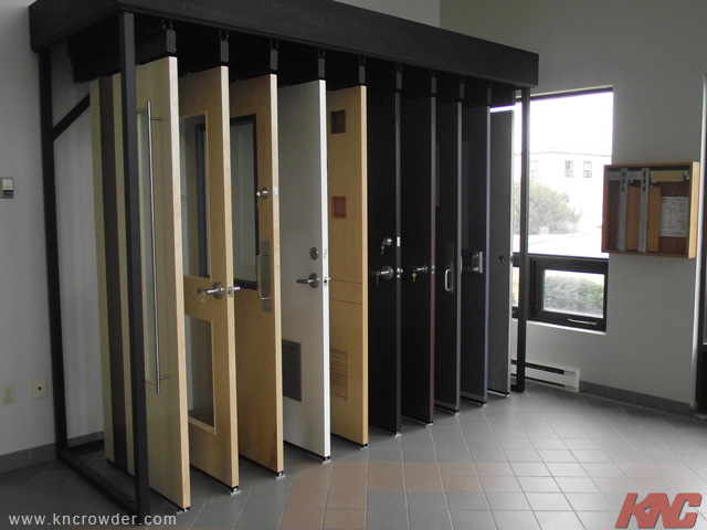 Crowder Display Systems Gallery Sliding Door Track & Door Displays - Sanfranciscolife