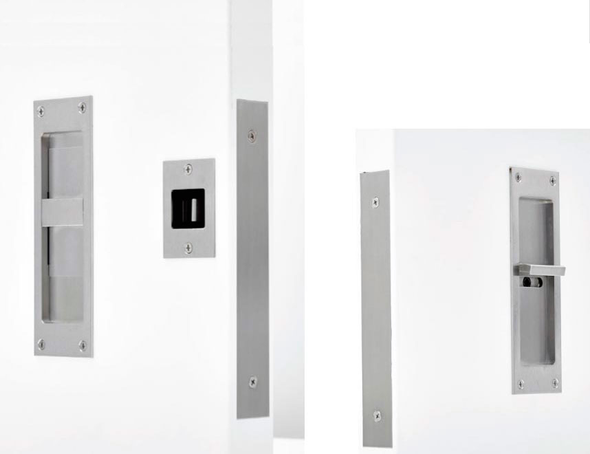 C-94BL-ET BARN DOOR PRIVACY LOCK SET