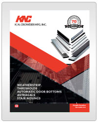 Automatic Door Bottoms & Stair Nosing Catalogue